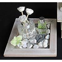 CLARALUNA Difusor de Cristal con Rosas decoración Motion
