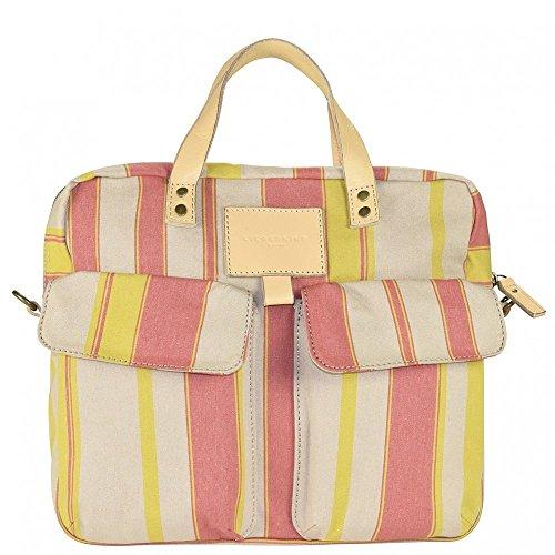 Liebeskind LinneaP Shopper Tasche 33 cm pink solar stripes
