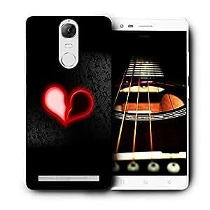 Snoogg Broken Red Heart Designer Protective Back Case Cover For LENOVO K5 VIBE