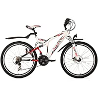 "KS Cycling Zodiac VTT semi rigide Blanc 26"""