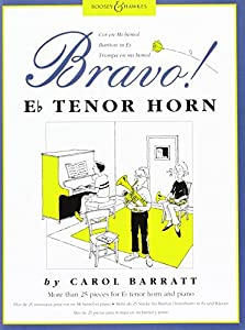 Bravo! Horn in Eb, Tenor Horn & Piano, Carol Barratt