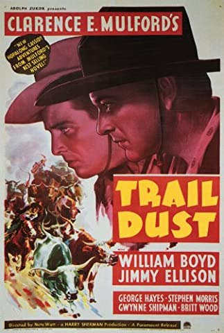 Trail Dust Affiche Movie Poster (11 x 17 Inches - 28cm x 44cm) (1936)