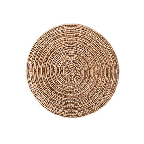 Homeofying - Salvamanteles redondos algodón aislamiento