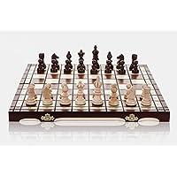 OLYMPIC - juego de ajedrez de madera 35cm/14 en hechos a mano