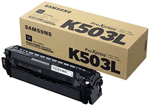 Preisvergleich Produktbild Samsung CLT-K503L/ELS Original Toner (Kompatibel mit: SL-C3010ND/C3060FR) Schwarz