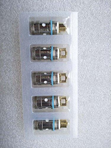 Preisvergleich Produktbild 5er Pack FOR iJust 2 IJUST S PICO EC Verdampferköpfe, Zubehör/Widerstand 0.15ohm, 90 g (Ohne Nikotin und Tabak frei)