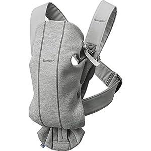 BABYBJÖRN Baby Carrier Mini, 3D Jersey, Light Grey   9