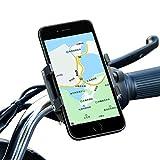 Aopan Handyhalterung Fahrrad, Verbesserte Aluminium Fahrrad-Telefonhalter mit 360° Rotation Einstellbar für alle 1.97-5.91 Zoll Telefon Einschließlich iPhone Samsung Huawei Xiaomi LG Nokia …