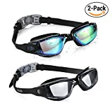 Best Water Goggles - Aegend Swim Goggles, Pack of 2 Swimming Goggles Review