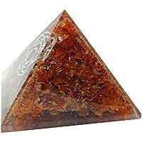 HARMONIZE orange Karneol Orgon Pyramide Milzchakra Symbol Reiki Kristall-Energie-Generator preisvergleich bei billige-tabletten.eu