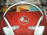 auvisio Wasserdichter, kabelloser Sport-MP3-Player DMP-440.H2O 4GB