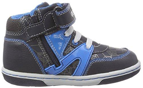 Geox B FLICK BOY C, Baskets premiers pas mixte bébé Bleu (C4366)