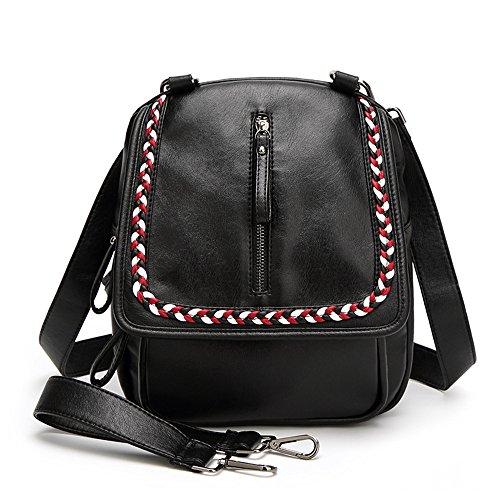 Mme épaules Forfait été seul sac d'épaule double-sacs à bandoulière sac à main des cartables des élèves preppy sac de voyage de loisirs