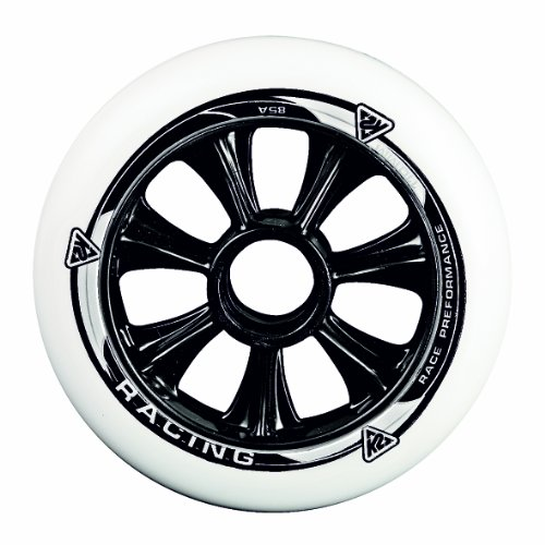 K2 Skates Unisex-Erwachsene 110MM WHEEL 4-PACK Inline Skates Rollen, Weiß