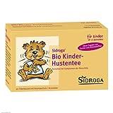 Sidroga Bio Kinder-Hustentee – Arzneitee mit Heilpflanzen bei Erkältung und Bronchitis – 20 Filterbeutel à 1,5 g