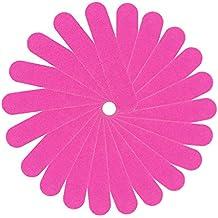 Zarup El almacenador intermediario rosado de la manicura del arte del clavo 20PC que lustra los archivos