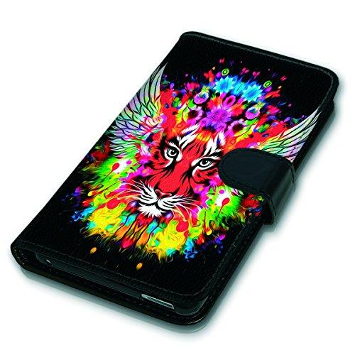 Wallet Book Style Flip Handy Tasche Case Schutz Hülle Schale Motiv Etui für Apple iPhone 6 / 6S - Variante UMV17 Design12 Design 11