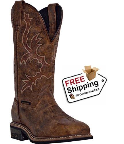 dan-post-hombres-de-nogales-impermeable-todo-marron-envejecido-botas-vaqueras-dp69791-dp69791ew85-uk