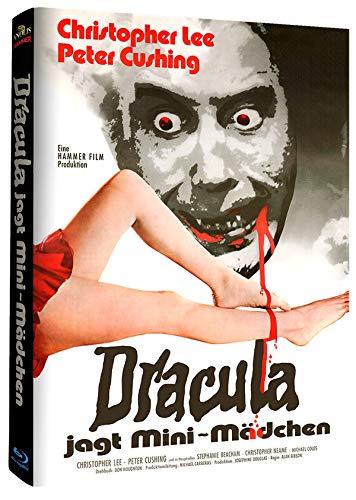 Dracula jagt Mini Mädchen - Hammer Edition Nr. 22- Cover A - Mediabook - Limitierte Auflage [Blu-ray]