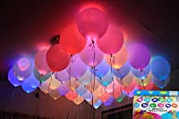Set of 25 led balloons assorted colours. Party time. Throw a unique party with the led light balloons. They are not only fun but affordable too.
