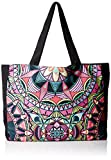 PilyQ Women's Tote Bag, Mandala, One Siz...