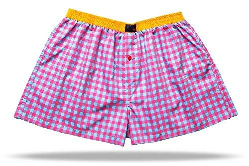 Preisvergleich Produktbild UNABUX Boxershorts Boxers Boxer Shorts Webboxer Unterwaesche Unterhose Briefs - GROESSE XL