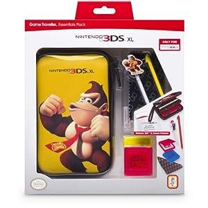 "bigben Nintendo 3DS XL – Zubehör-Set ""Mario Pack"" Donkey Kong"