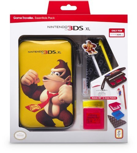 "bigben Nintendo 3DS XL - Zubehör-Set ""Mario Pack"" Donkey Kong"
