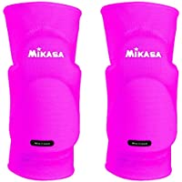 Mikasa Kobe - rodilleras para adulto, color Rosa Neón (Neonpink), talla única