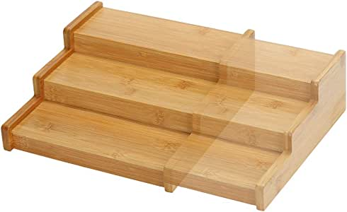 Amazon.de: Lustiger Chef Bambus Holz Gewürzregal