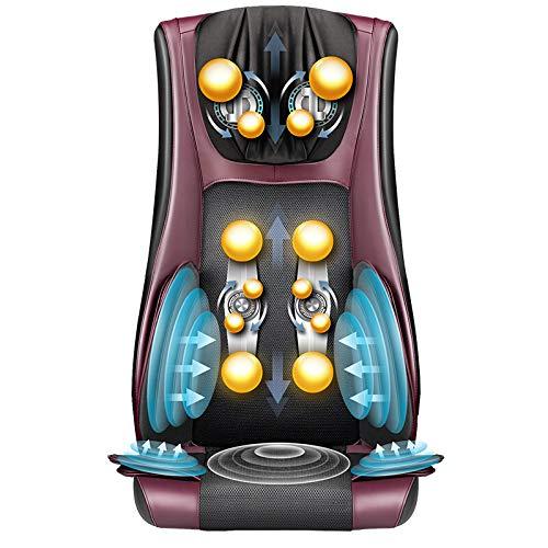 E-KIA MassagegeräT Elektrisch Massage Matte,RüCken Massage Kissen, Elektrischer Multifunktions-Lendenwirbel MassagegeräT