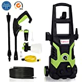 Patio Cleaner,1700W,135 Bar High Pressure Power Washer Jet Washer with Accessories Lightweight Portable