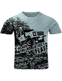 Bang Tidy Clothing All Over Print T Shirt Sublimation T-Shirts The World Isn't Flat Mens Holiday T Shirts Festival Clothes Men