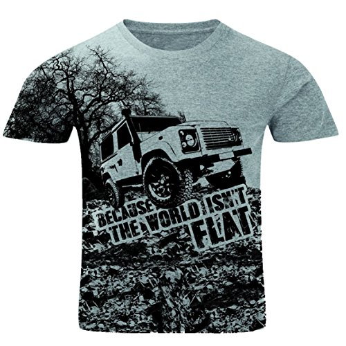 because-the-world-isnt-flat-land-rover-defender-4x4-off-road-mens-t-shirt-2silverxl