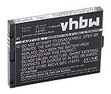 vhbw Li-Ion Akku 1100mAh (3.7V) für Telefon, Seniorentelefon Emporia Telme F200, F-200, F210, F-210 wie AK-F200.