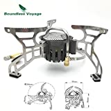 Folding Gas Stove Camping Stove For Outdoor Cooking Portable Lightweight Big Power
