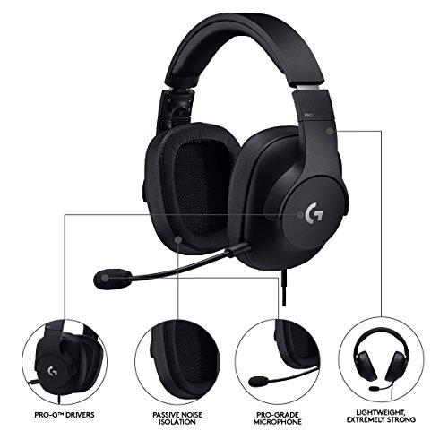 Logitech G Pro Cuffia Gaming 465efbb12661