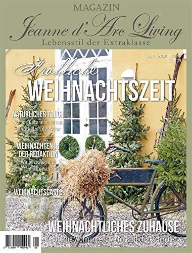 Jeanne d´Arc living*Magazin*Dezember 2019*Zeitschrift*JDL Zeitung Fröhliche Weihnachtszeit*Wohnmagazin*Deko *Christmas* Vorbestellung * Lieferbar ab 15.11.2019*Rezepte DIY Ausgabe