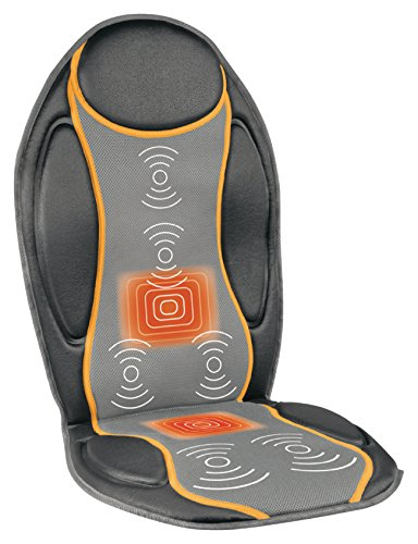 Preisvergleich Produktbild Eurosell Profi Home / Auto KFZ Massage + Heiz Wärme Auflage Massageauflage massagesitzauflage Sitz