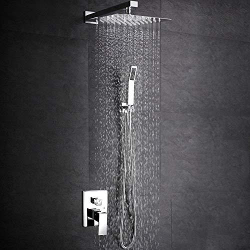 dise/ño Grifo de ducha encubierto Sistema de ducha Conjunto de ducha Ba/ñera Ducha de mano Ducha Sistema de ducha empotrado Rociador de ducha Ducha de mano Grifo de ducha Juego de ducha de ba/ño Nuevo