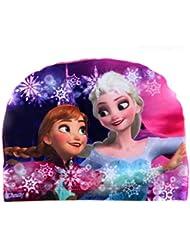 Mak Sale LTD Bonnet de bain en tissu pour enfants de 2 à 10 ans