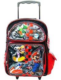 Mario Kart Large Roller Backpack - Full Size Nintendo Super Mario Rolling Backpack by Nintendo
