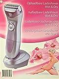 Elektrischer Damenrasierer Aufladbarer Ladyshaver Damen Rasierer aufladbar Wet Dry Nass und Trocken