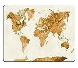 Jun XT Gaming Mousepad-ID: 41960201Weltkarte in Aquarell Gemälde abstrakt Spritzen