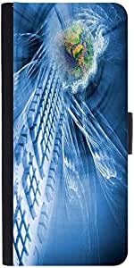 Snoogg Abstract Internet Background Designer Protective Phone Flip Case Cover For Vibe K4 Note
