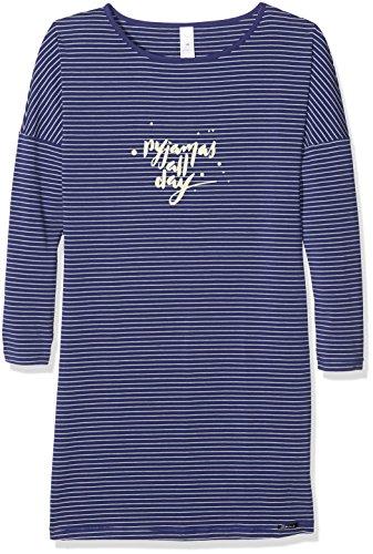 hemd Cosy Night Sleep Sleepshirt Langarm, Mehrfarbig (Deepviolet Stripe 8094), 152 (Herstellergröße: 152) (Nachtwäsche Für Mädchen)
