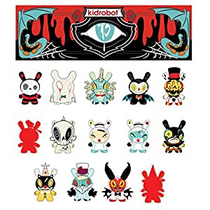 """Kidrobot - Figurine Dunny 2015 """"13 Series"""" by Brand Peters Collector Figure"""