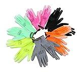 Gartenhandschuhe Antonio Neon Set 6 Stück Arbeitshandschuhe Allroundhandschuhe Schutzhandschuhe Damen Herren Größe (L/XL)