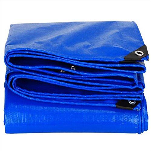 ZhuFengshop Plane Plane Polyethylen Verdickung Sonnenschutz Wasserdicht Dreiradschuppentuch Außendeckentuch 160g / m² Garten, Outdoor, Anti UV, reißfest, feuchtigkeitsb (Color : Blue, Size : 2X 3m)