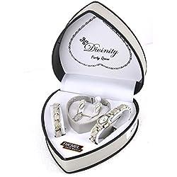Ladies Gift Set - Watch, Earings, Bracelet & Necklace